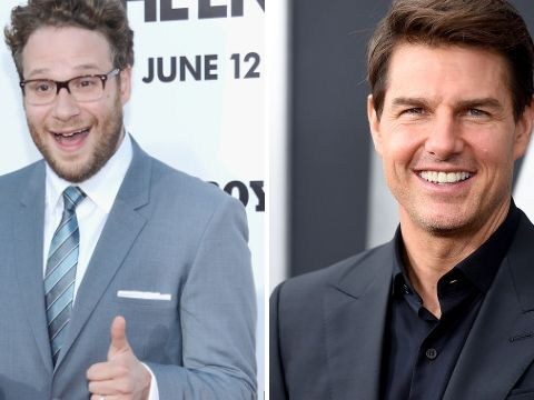 Seth Rogen once taught Tom Cruise about internet porn
