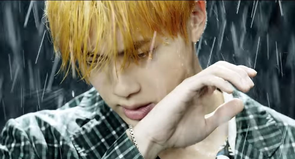 Jin in the rain in Epiphany trailer