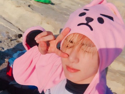 BTS' Jungkook has gone blonde for the summer and we're loving it
