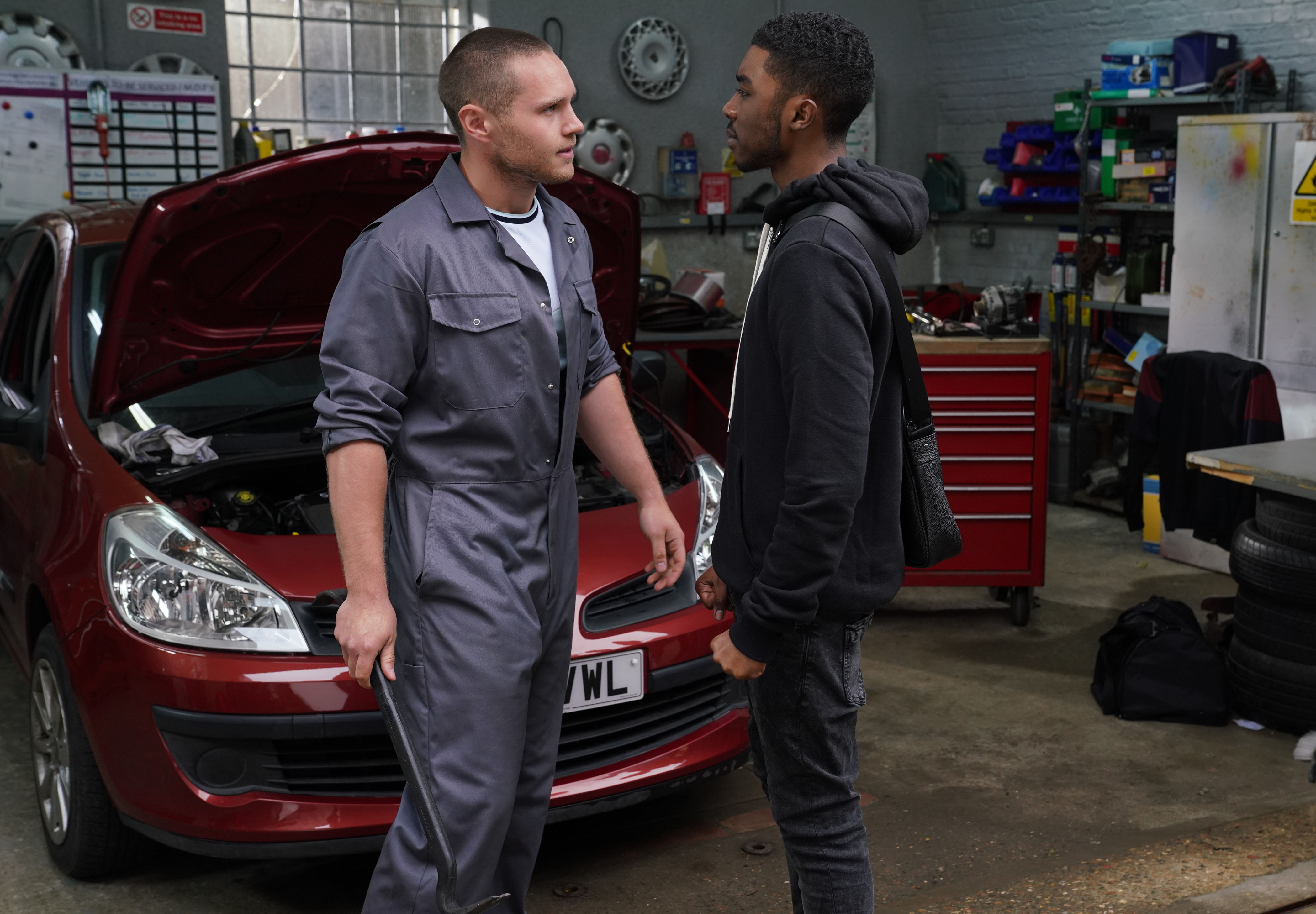 EastEnders spoilers: Phil saves Dennis and Keanu from a violent confrontation