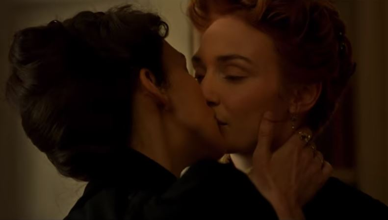 Keira Knightley kisses Poldark's Eleanor Tomlinson in trailer for period drama Colette