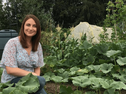 When I was struggling with PTSD, my allotment was the one place I could seek refuge