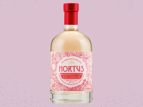 Lidl launches a new pomegranate and rose flavoured gin