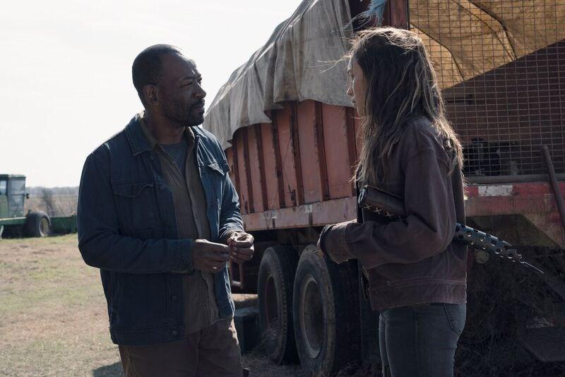 Morgan in Fear The Walking Dead