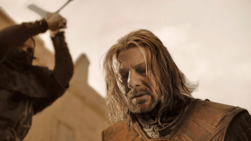 Ned Stark death in Game of Thrones