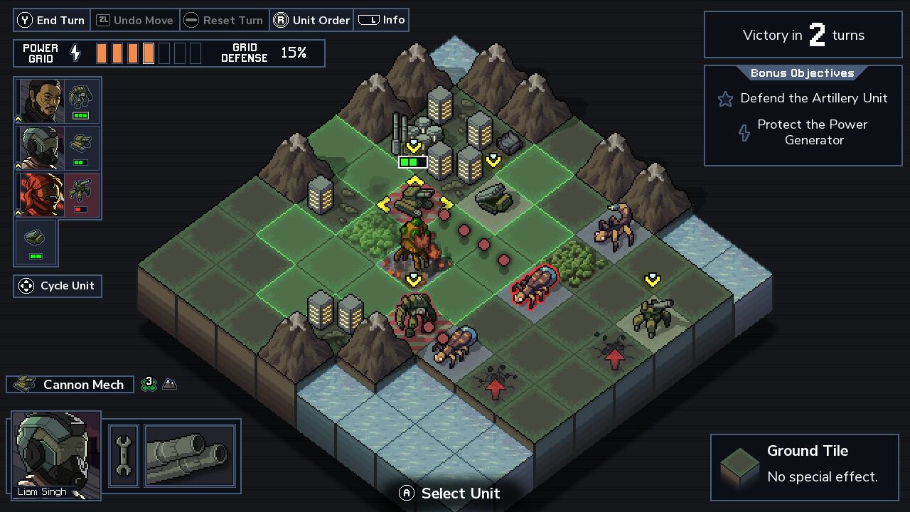Into The Breach (NS) - the hardest strategy is to stop playing