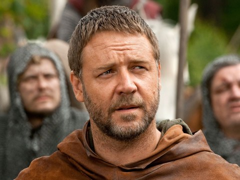 Russell Crowe finally puts fans' minds at rest as he explains Robin Hood accent
