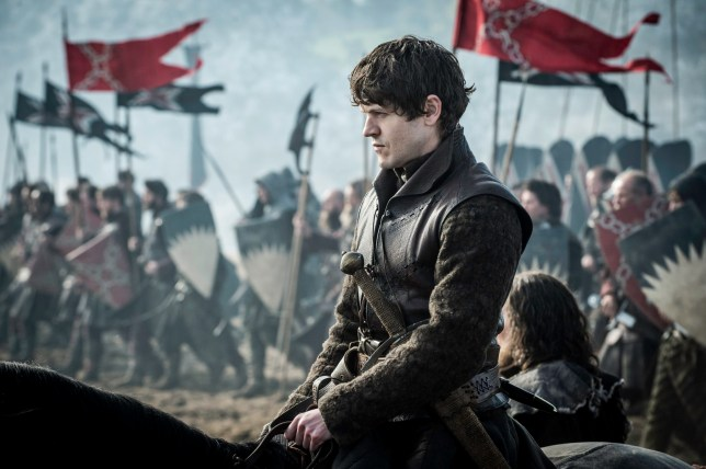 Television Programme: Game of Thrones with Iwan Rheon as Ramsay Bolton.
