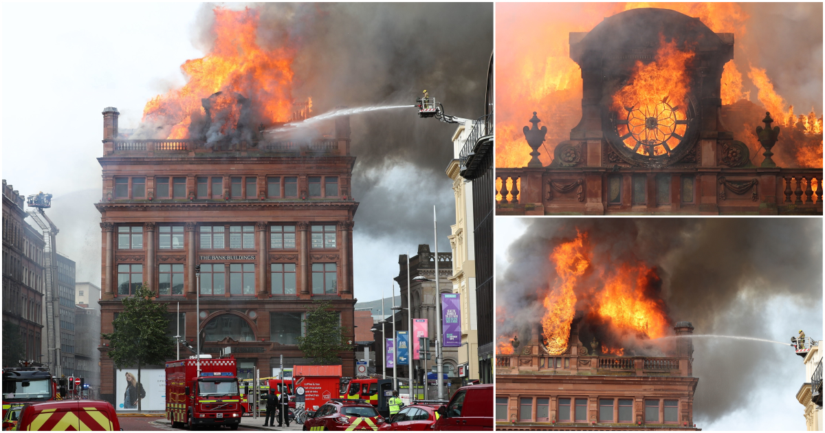 Huge fire breaks out at Primark destroying 233-year-old building