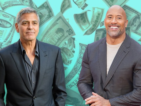 George Clooney and Dwayne Johnson top the Forbes actors rich list