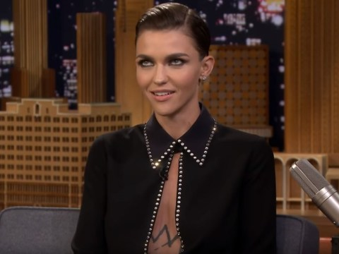 Ruby Rose fights back tears as she talks about playing Batwoman – the first openly gay superhero to headline a TV series