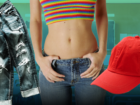 A school in California is embracing an 'anti-dress code' where nearly everything is allowed