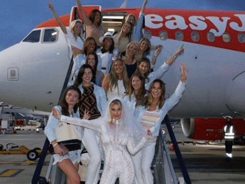 Sam Faiers and Ferne McCann finally put year-long feud to rest for Billie's wild hen party in Ibiza