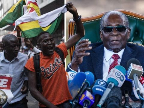 Robert Mugabe's old party wins Zimbabwe election without him