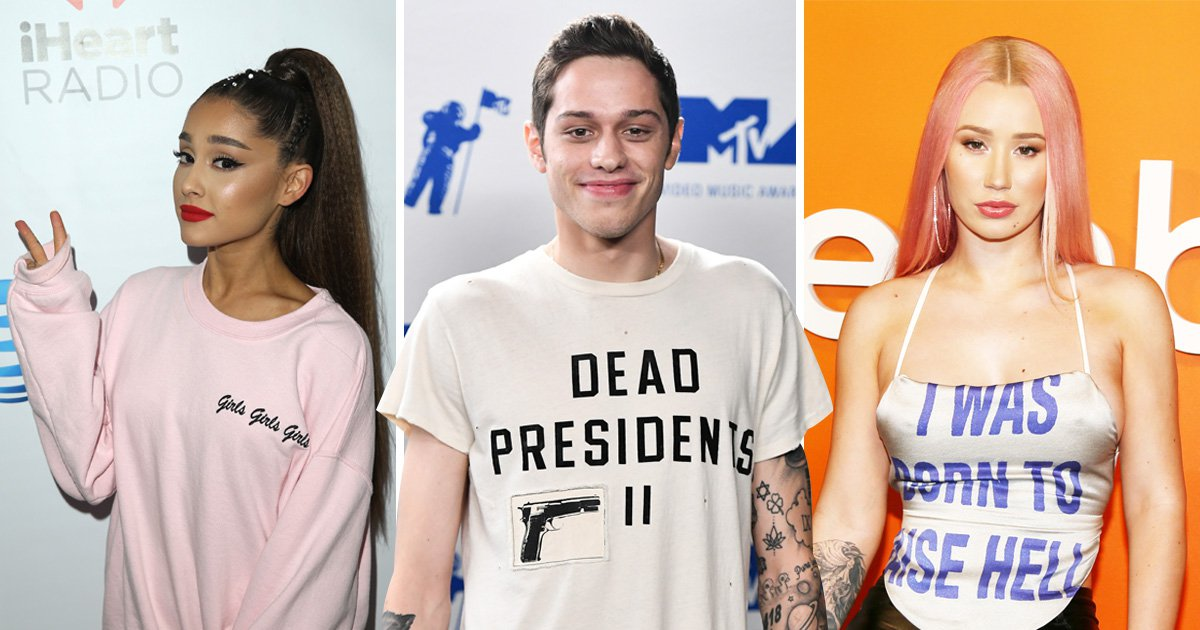 Iggy Azalea reckons Ariana Grande has been 'd***-matised' by fiance Pete Davidson