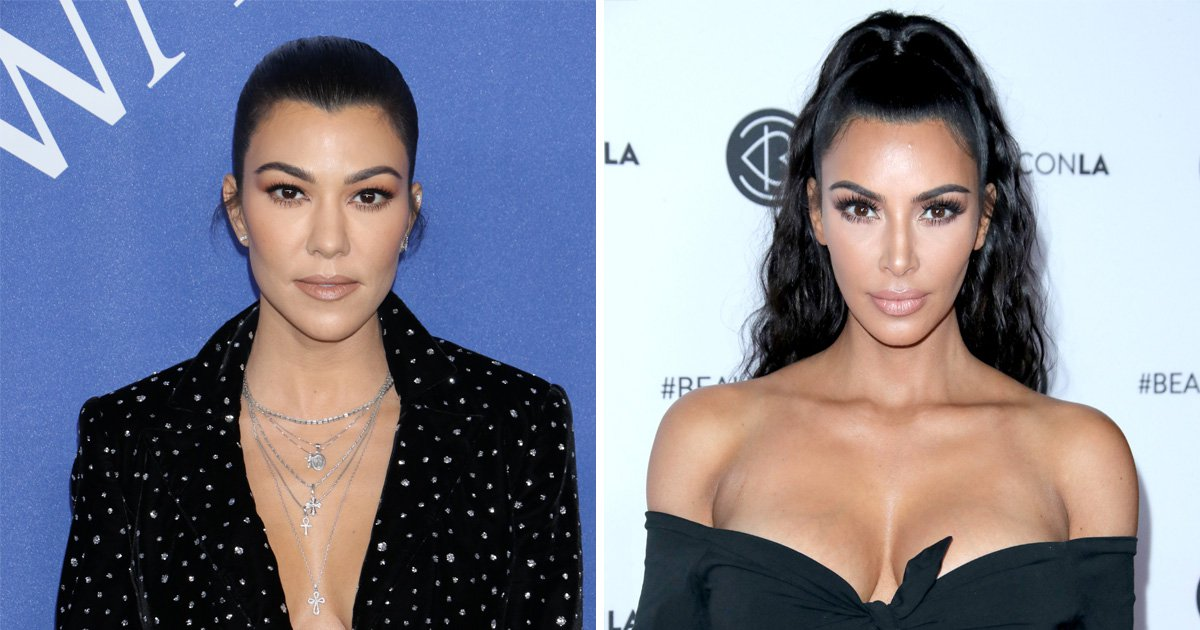 Kourtney Kardashian tells Kim to 'be positive' amidst so-called feud