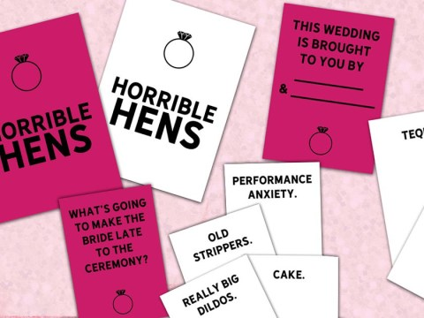Got a hen do coming up? You need to play this Cards Against Humanity inspired game