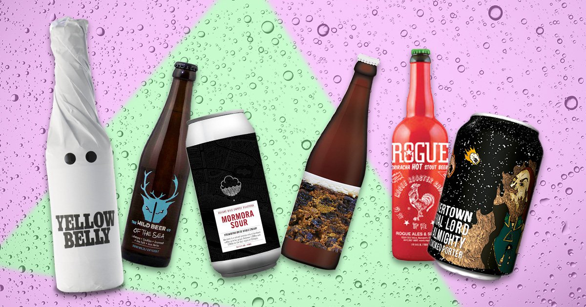 A taste of some of the weirdest and most wonderful craft beers on the market
