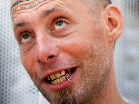 Homeless man 'paid to have groom's name tattooed on head' files police complaint