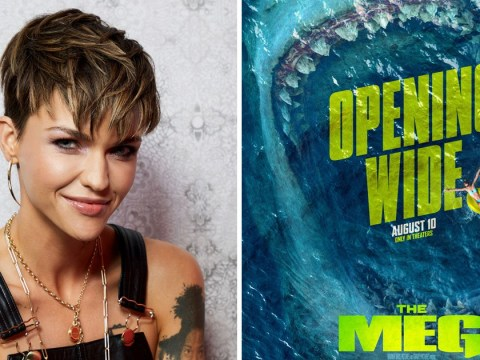 The Meg actress Ruby Rose had to be rescued by divers in terrifying underwater tank incident