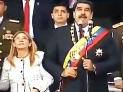 Venezuelan president flees assassination attempt during live TV broadcast
