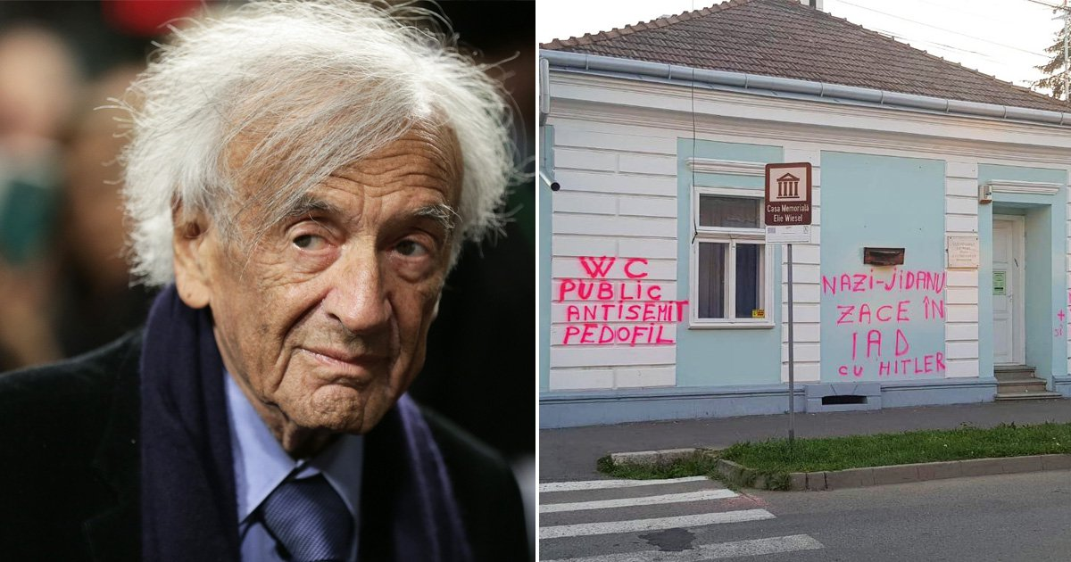 Auschwitz survivor's home covered in anti-Semitic graffiti
