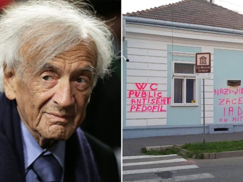 Auschwitz survivor's home covered in anti-Semitic graffiti