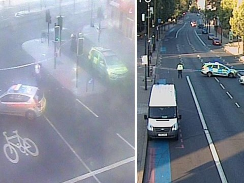 Police hunt for driver after woman killed in London hit and run