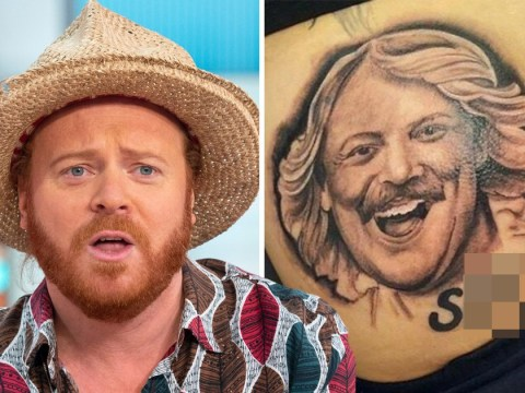 Keith Lemon fan gets tattoo of his face on their bum – then forgets to wipe before sending comedian grim pic