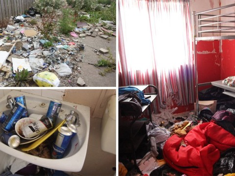 Inside home where children were made to live with dead mice, broken furniture and mountain of litter