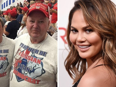 Chrissy Teigen jokes that her father is a Trump supporter in funny birthday tribute