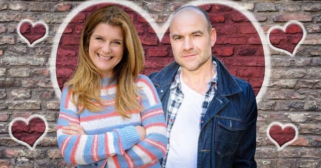 Coronation Street affair for Tim and Gina