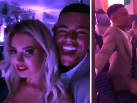 Inside the wild Love Island after party as Megan grinds on Wes while Caroline Flack gets on the Jagerbombs