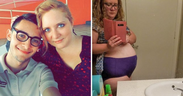 woman says endometriosis makes people think shes pregnant