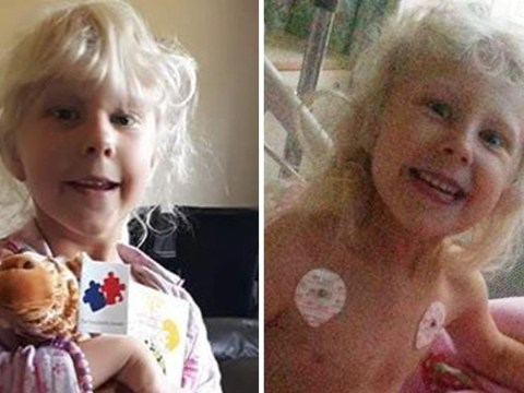 Mum describes how chickenpox almost paralysed her daughter