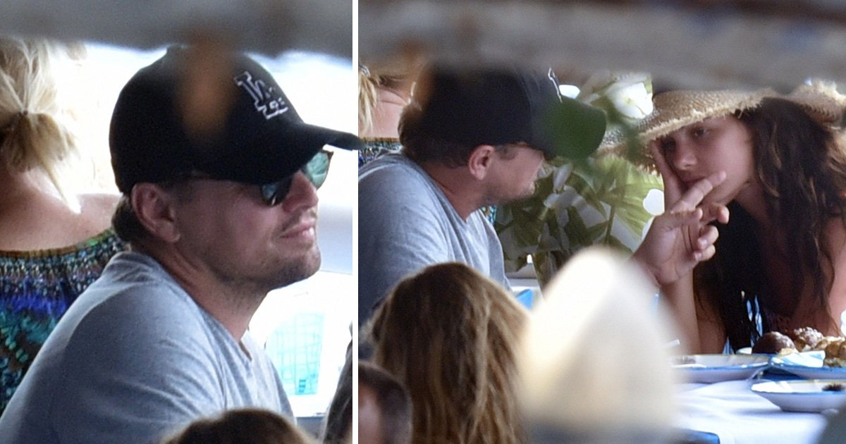 Leonardo DiCaprio shows morsel of PDA as he wipes cheek of girlfriend Camila Morrone