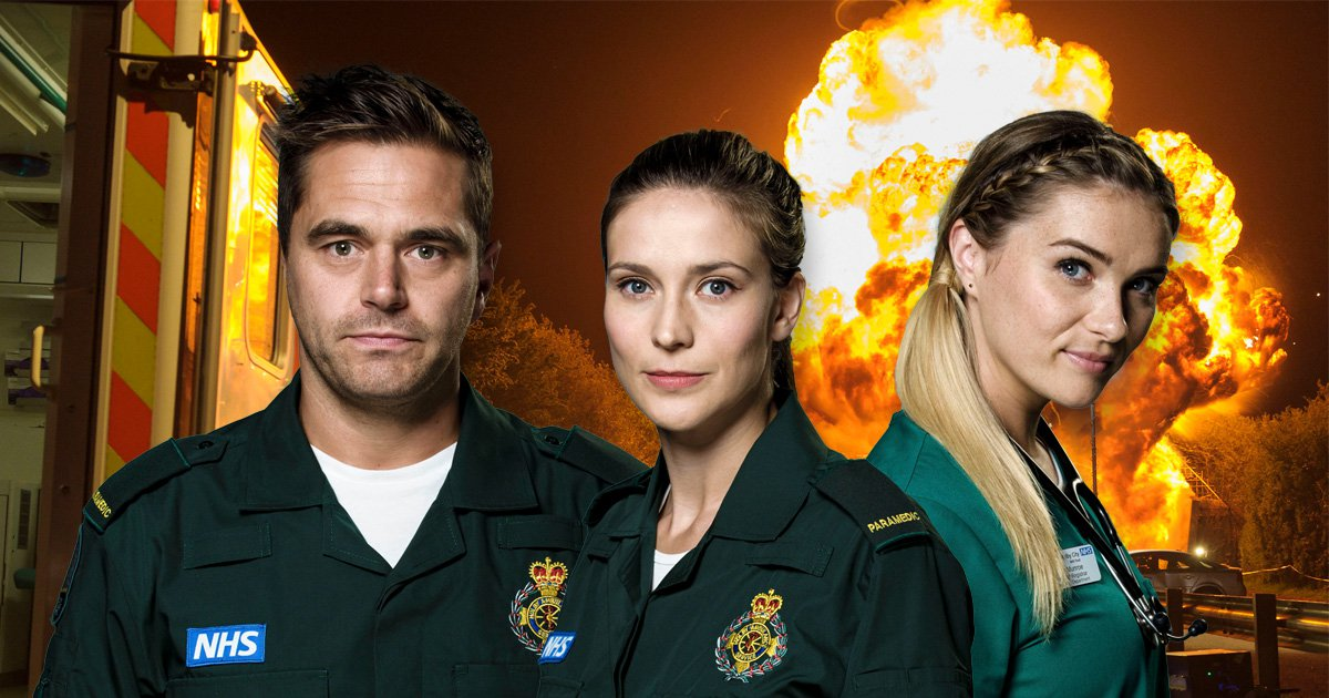 Casualty spoilers explosion