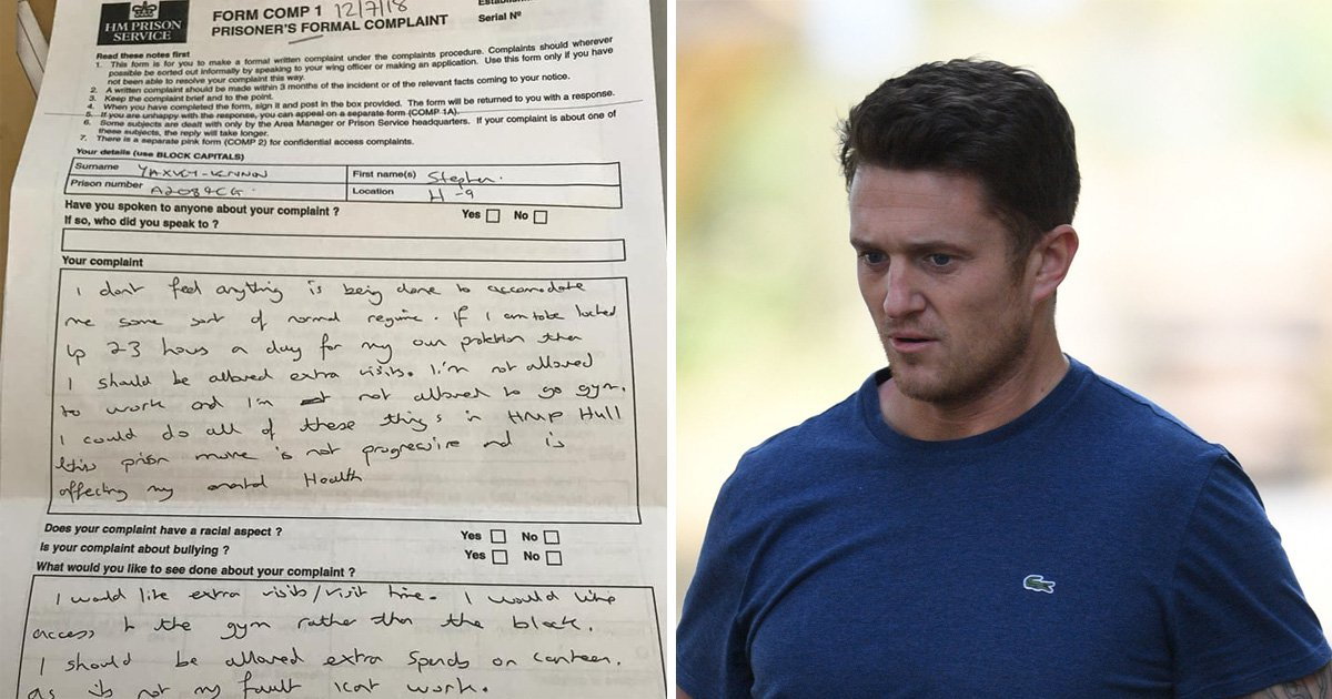 Tommy Robinson's handwriting 'shows just how insecure and resentful he is'