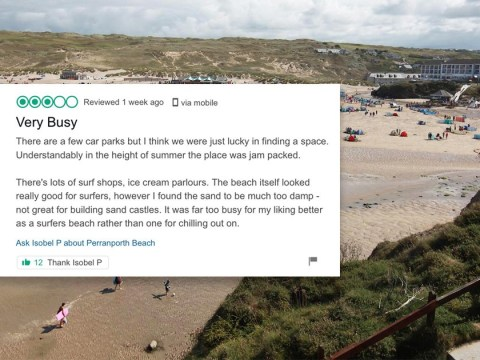 Woman complains about sand on beach being too wet in bizarre Trip Advisor review