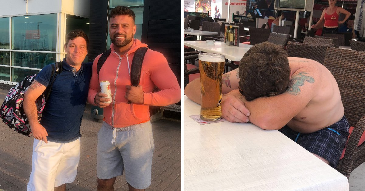 Dad goes out for one pint – and ends up in Majorca hours later