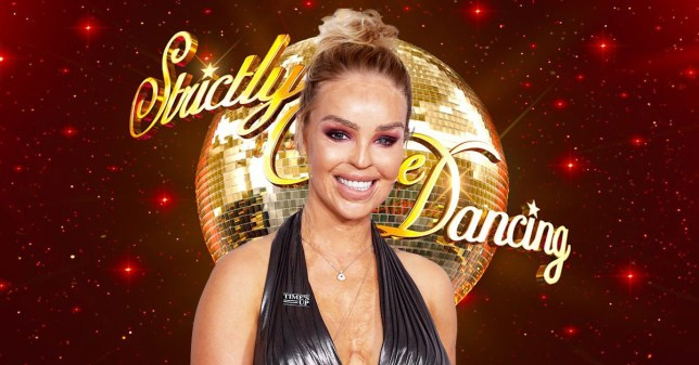 Katie Piper for Strictly