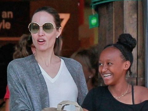 Maleficent? Angelina Jolie looks magnificent as she hits shops with kids amid ongoing custody battle