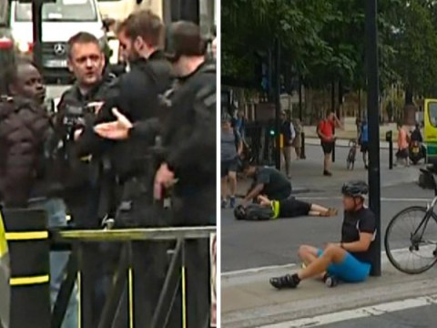 New Westminster terror attack as driver crashes into cyclists outside Parliament
