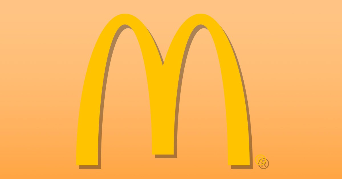 Why are so many fast food signs yellow?