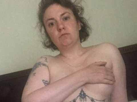 Lena Dunham marks 9 month anniversary of her hysterectomy with naked pictures