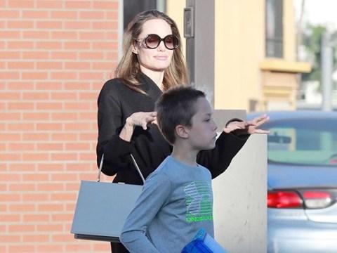 Angelina Jolie treats Shiloh and Knox to new toys amid claims it's 'likely' ex Brad Pitt will win joint custody