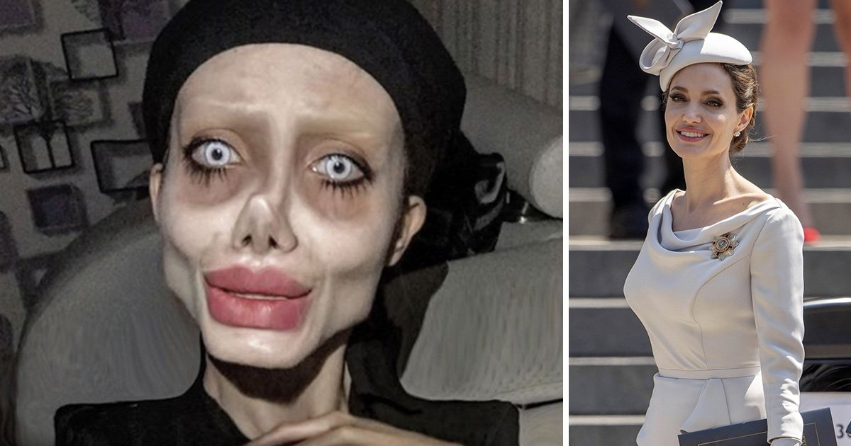 Angelina Jolie 'lookalike' reveals her most extreme look yet