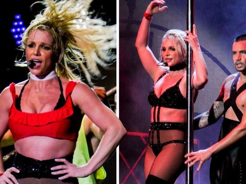 Britney Spears takes on Scarborough stage despite typical British rain and fans love her even more