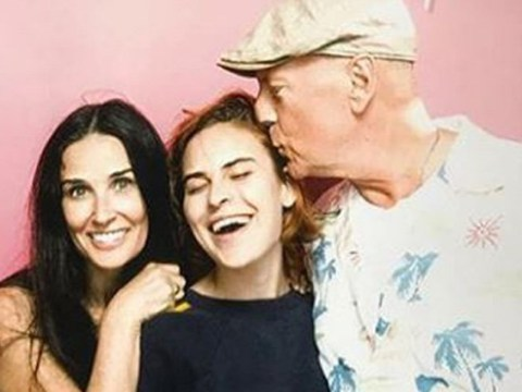 Bruce Willis and Demi Moore continue to be our favourite Hollywood exes as they celebrate Rumer's 30th