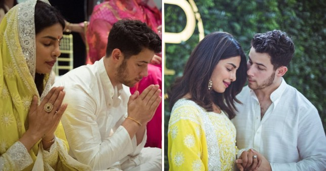 Priyanka and Nick confirm engagement in roka ceremony